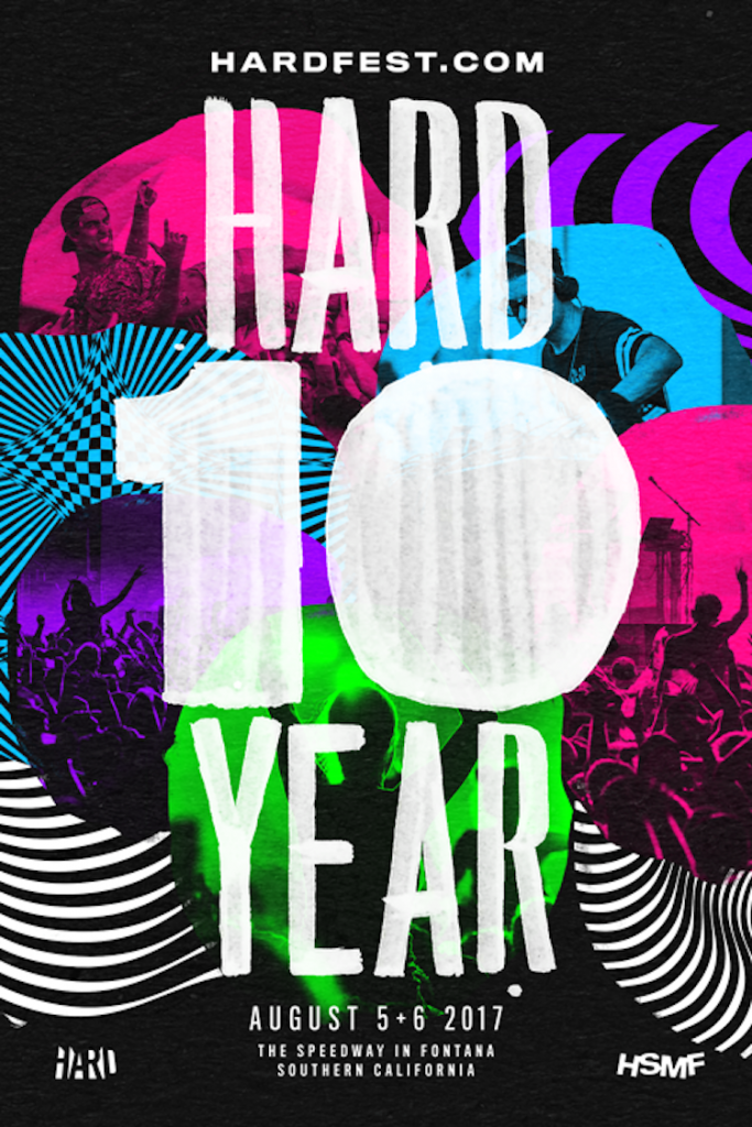 HARD Summer Announces Return to Speedway in Fontana