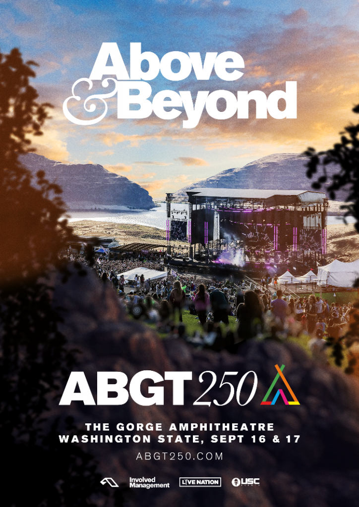 Above & Beyond Announce ABGT 250 at The Gorge