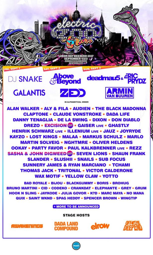 Electric Zoo announces Phase 2