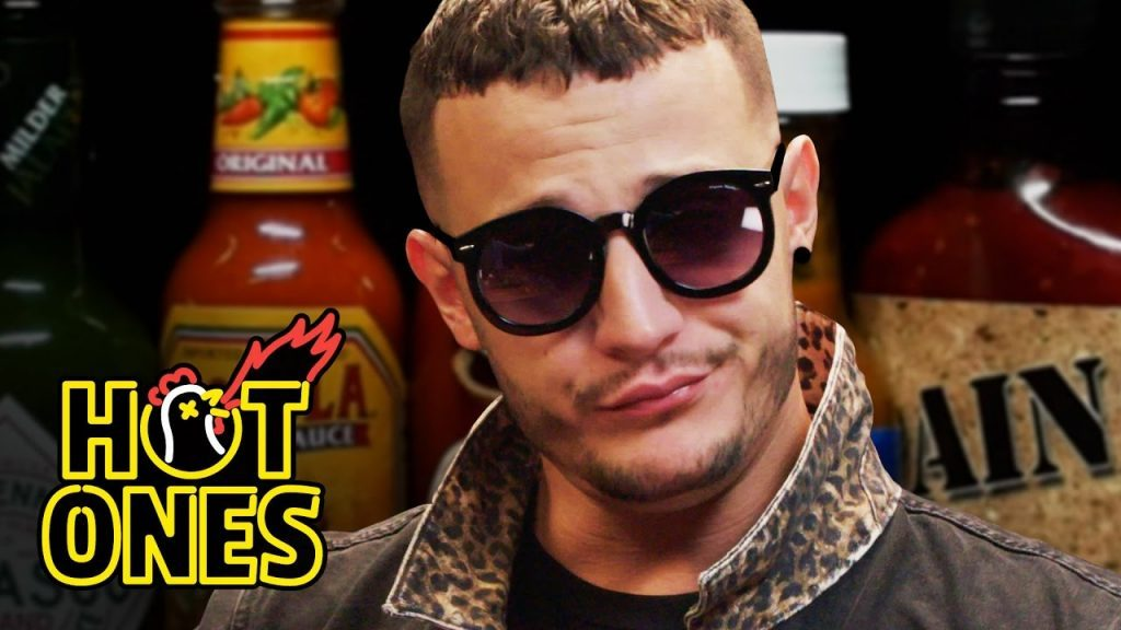 DJ Snake Reveals He's Human While Eating Spicy Wings on Hot Ones