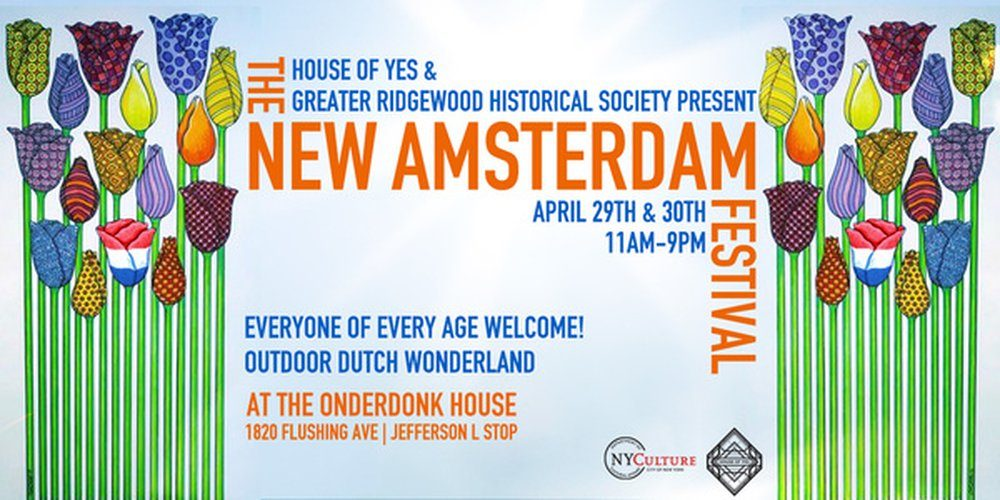 House of Yes and Greater Ridgewood Historical Society present The New Amsterdam Festival