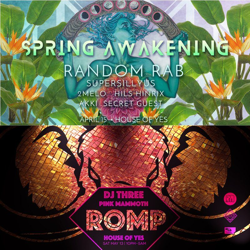 House of Yes Welcomes Spring Awakening and Pink Mammoth Presents Events