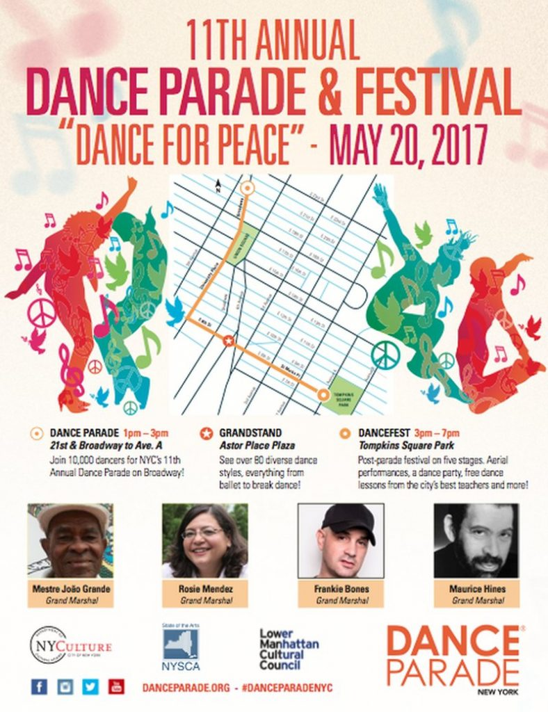 11th Annual Dance Parade & Festival in NYC