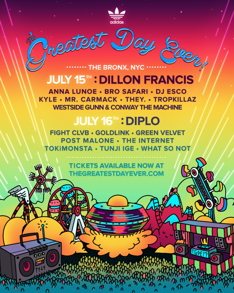 Greatest Day Ever! Announces 2017 Line Up