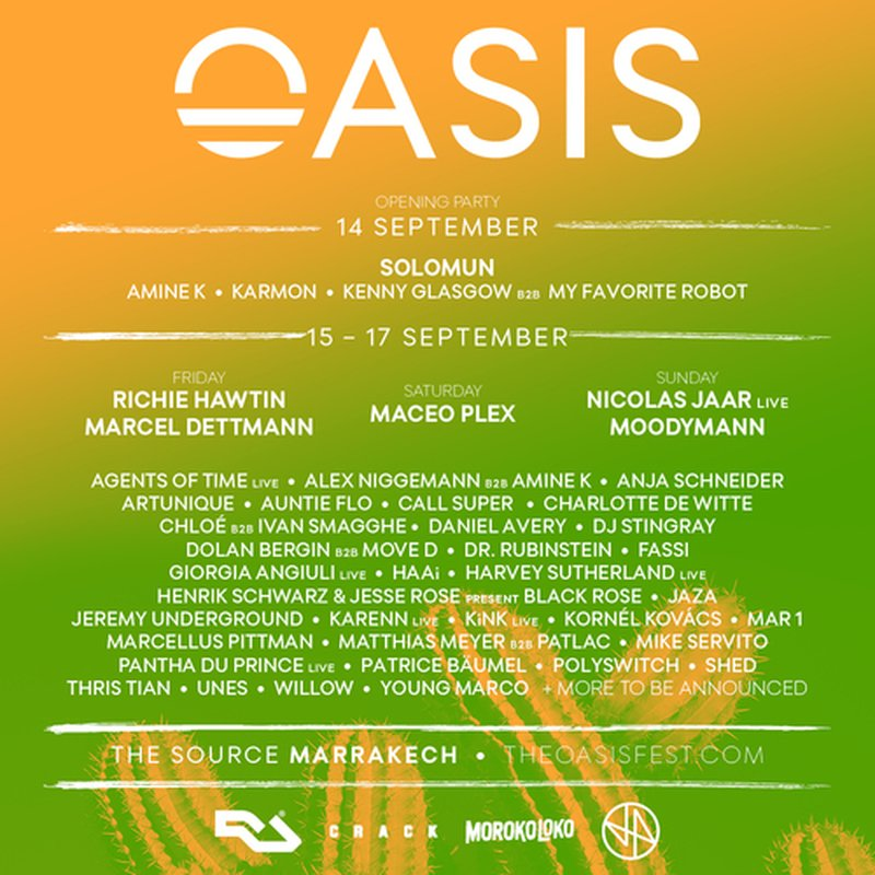 Oasis Festival Announces Phase 3 Lineup