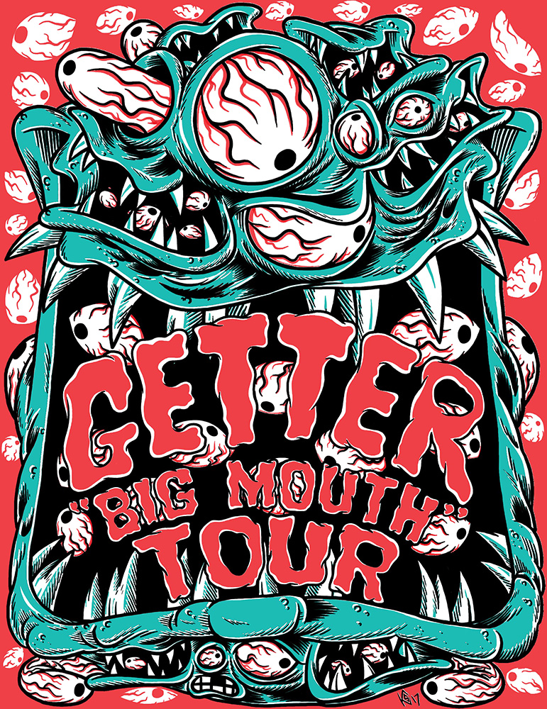 [Event Review] Goldenvoice Presents: Getter Big Mouth at The Fonda Theatre (11/30)
