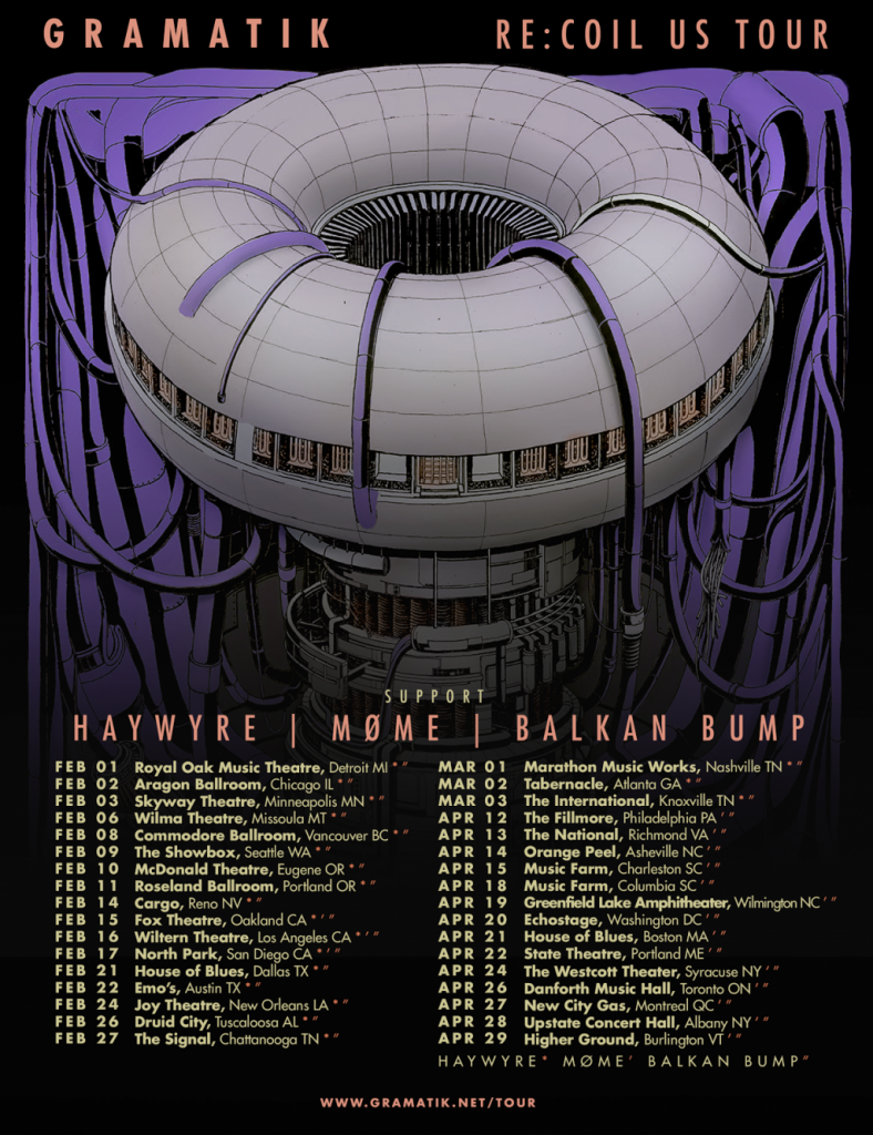 [Event Preview] Gramatik Re:Coil US Tour at the Wiltern Theater 2/16