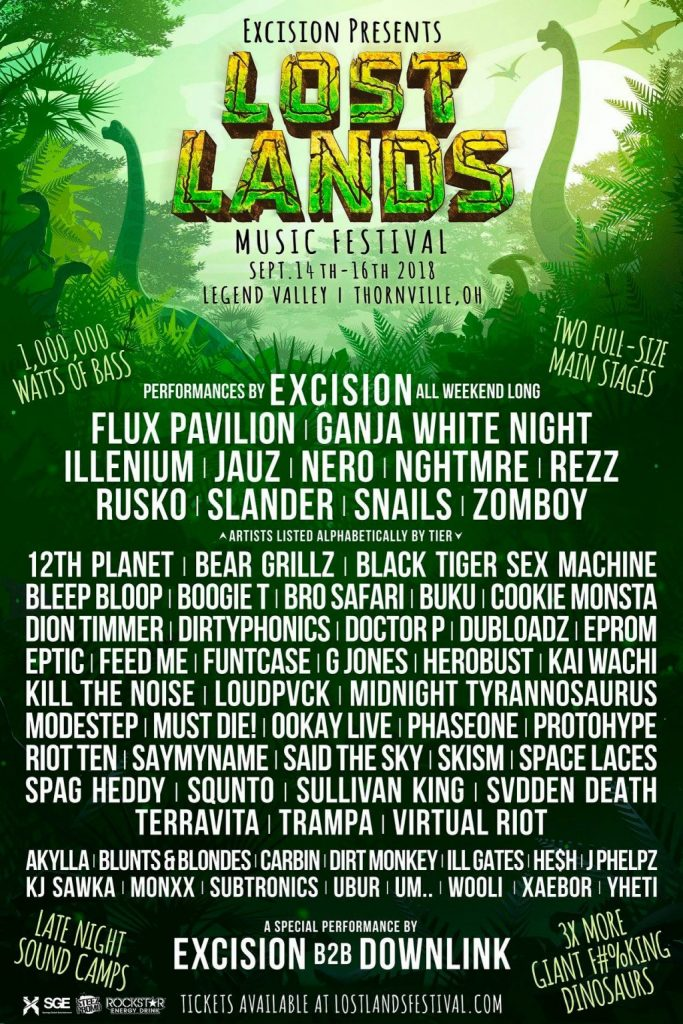 Lost Lands Announces 2018 Festival Line Up